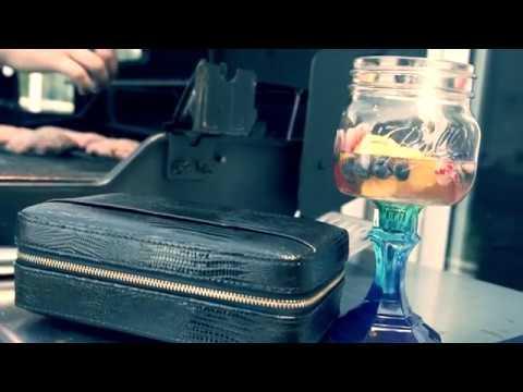 Cigar Star Leather Travel Humidor