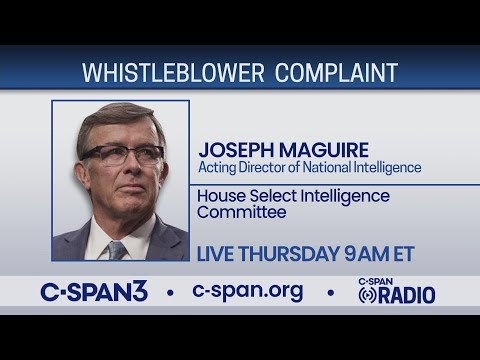 LIVE: Acting DNI testifies on whistleblower complaint before House Intelligence Cmte