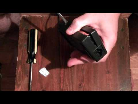 How to Open a Dell AC Laptop Adapter, for real