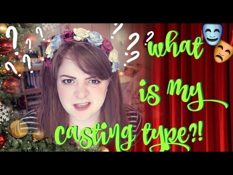 HOW TO FIND YOUR CASTING TYPE! Amy Lovatt