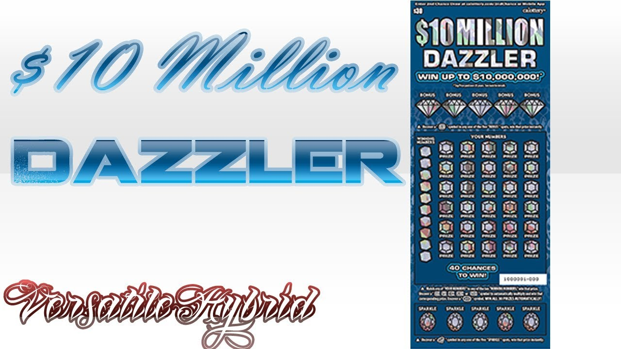 $30 $10 Million Dazzler #1 (BIG WIN) NEW Win up to $10,000,000