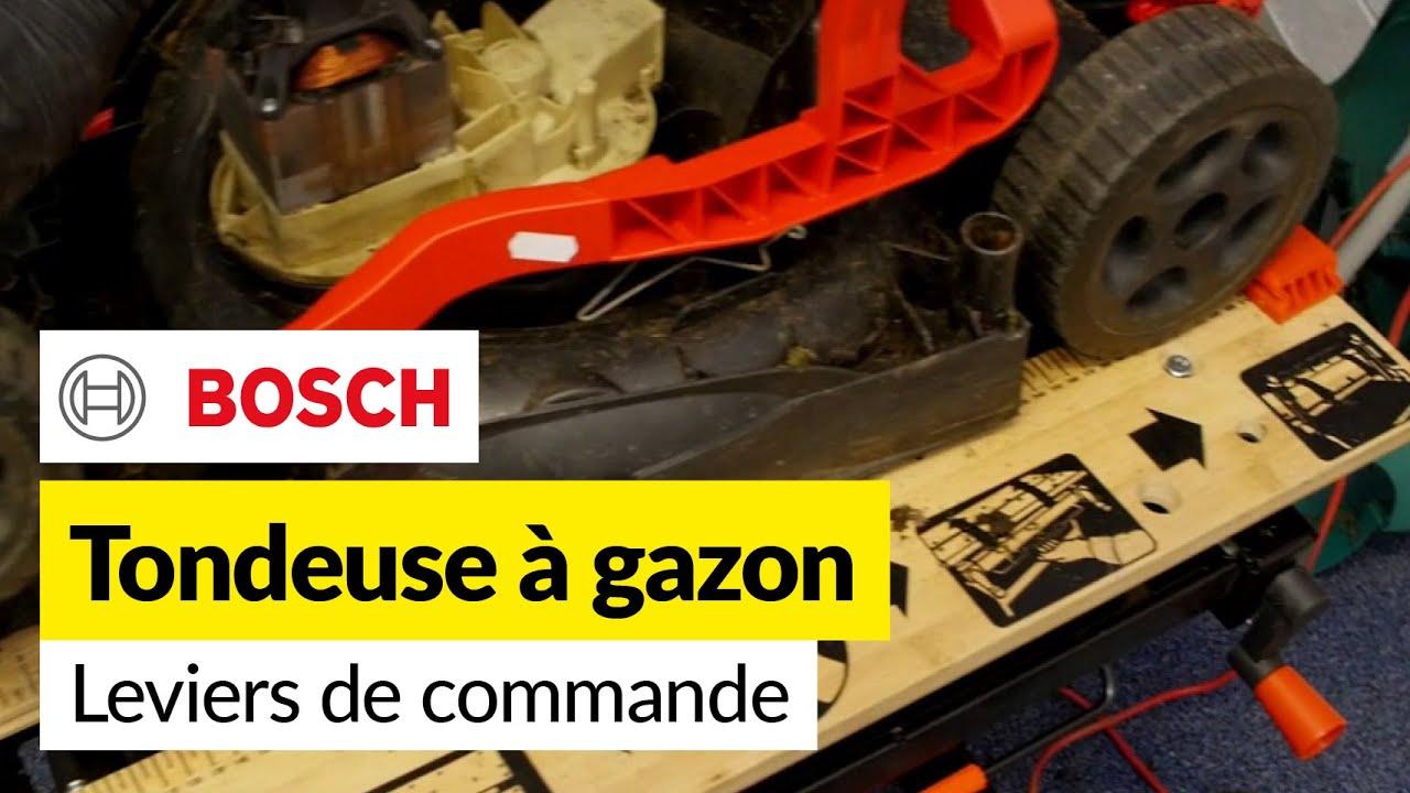 Bosch Tondeuse à gazon réglage hauteur Levier Rotak 34 36 37 40 43 Ergoflex