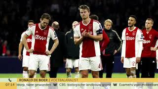 Ronald de Boer heeft flinke kater na verlies Ajax