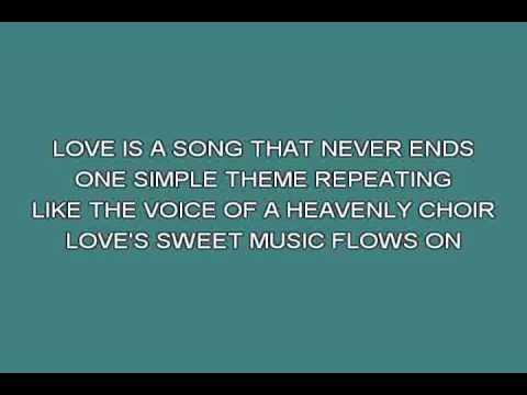 Love is a song Bambi   Cartoons & Moovies [karaoke]