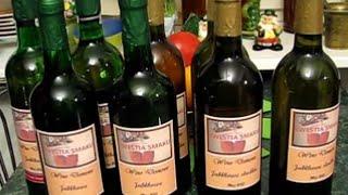 Wino z jabłek - całość od nastawu do butelkowania - przepis i wykon...