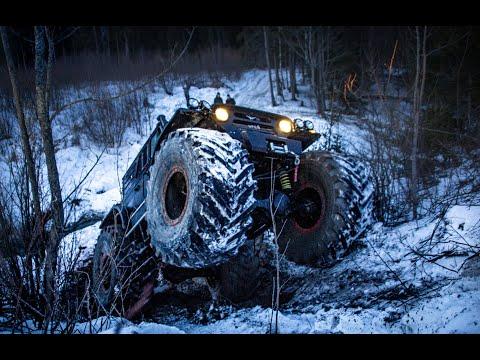 БИГФУТ УАЗ против Jeep Wrangler часть 1