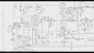 003 Fonte da TV no esquema elétrico 1