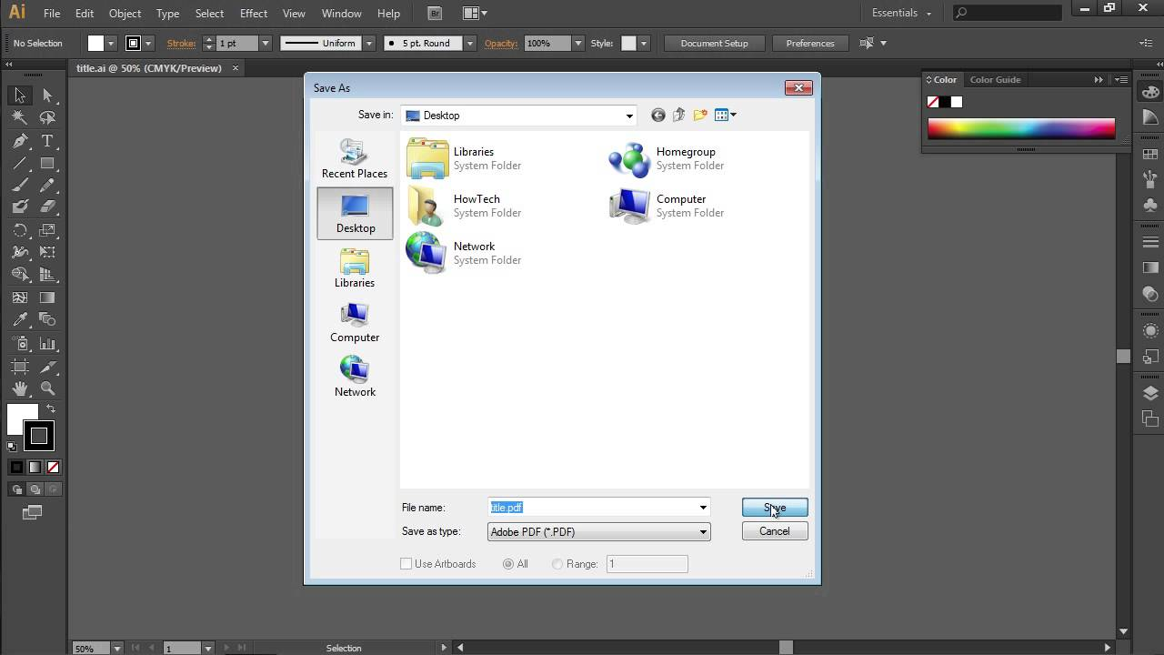 ai to pdf converter free download