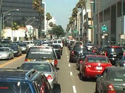 Form Bullhead City to Beverly Hills in LA ( better resolution film 2012)