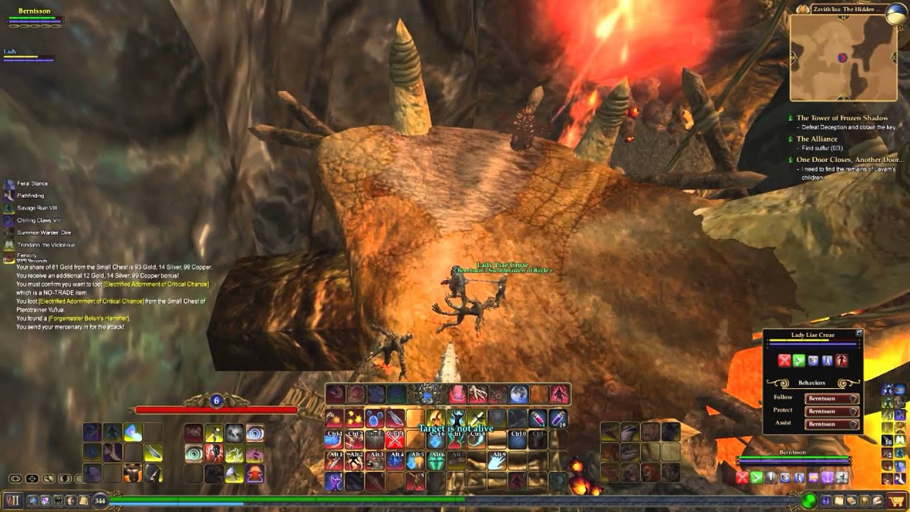 Everquest 2 show you how good a Beastlord are=) The hidden caldera advanced  solo