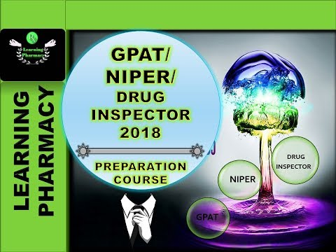 GPAT / NIPER / OTHER PHARMACY COMPETITIVE EXAM PREPARATION COURSE