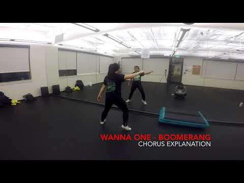 [Eclipse] Wanna One (워너원) - BOOMERANG (부메랑) Dance Tutorial   Intro, Daniel's Verse, Chorus