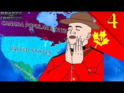 CANADA FIGHTING IN CHINA! Hearts of Iron 4: Road to 56 Mod: HOI4 Challenge Communist Canada #4