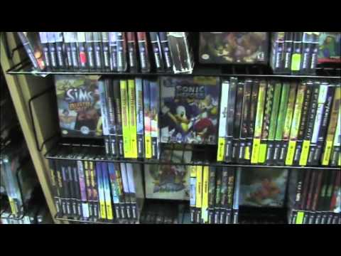 Visiting Vintage Stock game store - Gamester81