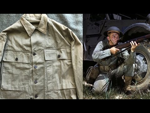 WW2 American Combat Uniforms: The HBT Field Jacket
