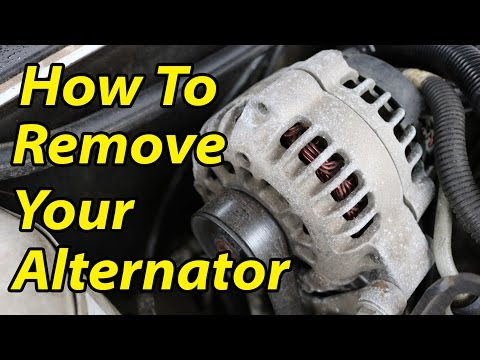 DIY How To Remove Replace an Alternator (GM 3400 V6)