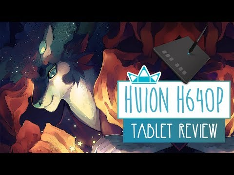 Huion H640P Graphics Tablet   UNBOXING & REVIEW   Tablet Review