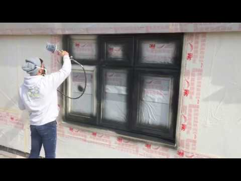 Hps painting a pvc window youtube - Interior door spray painting service ...