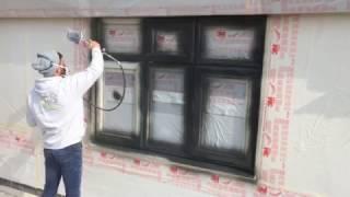 HPS painting a PVC window