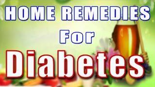 HOME REMEDIES FOR DIABETES II मधुमेह के घरेलू उपचार II