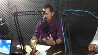 Khmernewstime   Meach Sovannara Talks in the Khmer Post Studio at Tuol Kuok on January 20