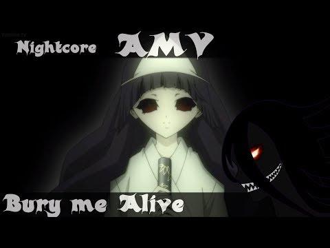 Shiki { AMV } Bury me Alive [ Nightcore ]