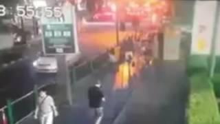 CCTV footage- Moment massive bomb explosion rocked Bangkok, killing 12