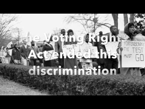 The Voting Rights Act of 1965