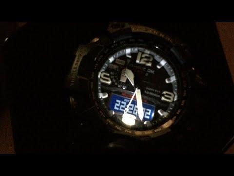 BACKLIGHT IN FULL DARKNESS!!! CASIO G-SHOCK GWG-1000-1AER ...