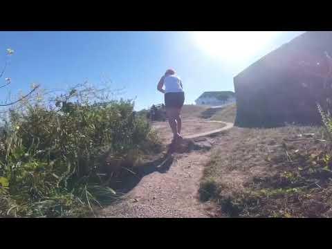 Running the Guernsey Cliffs