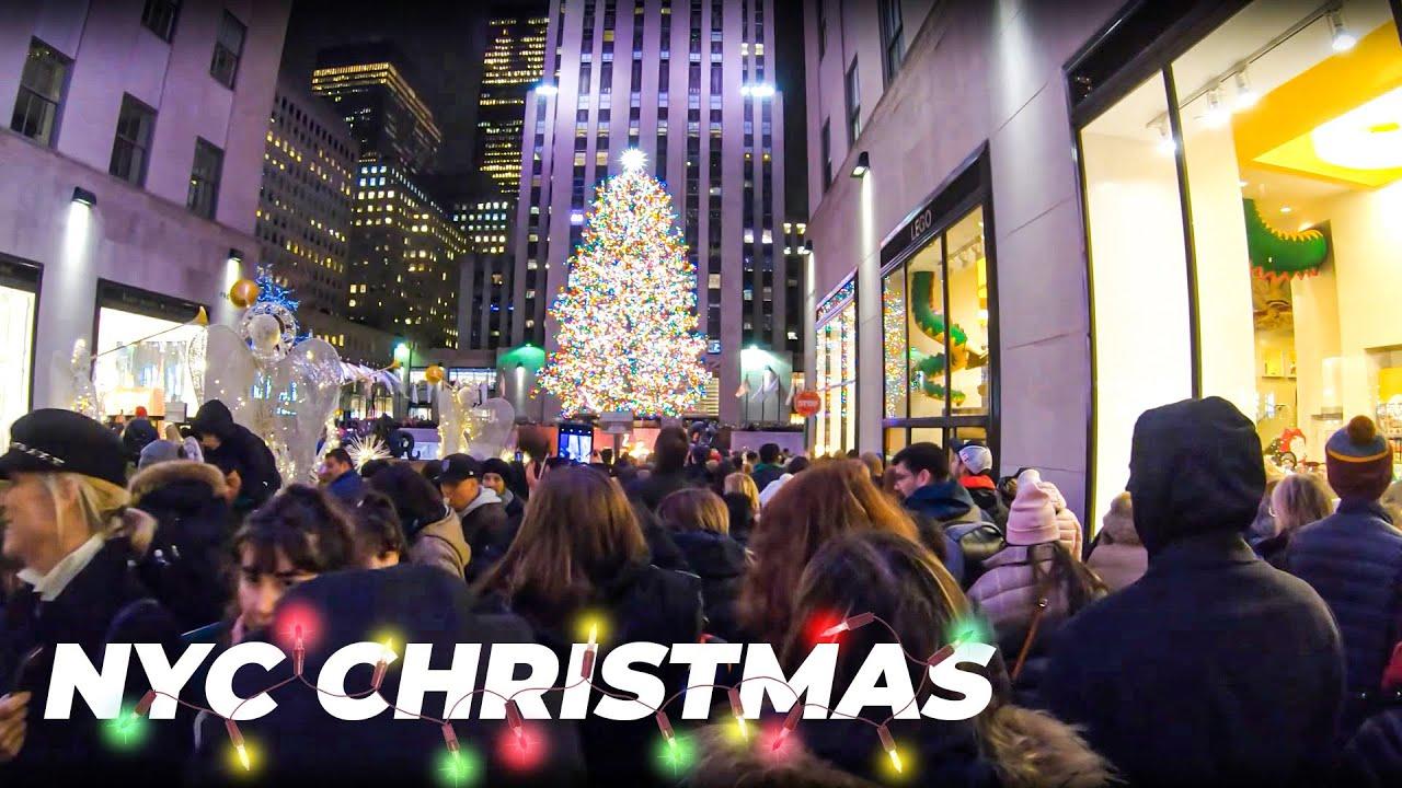 Christmas Walking NYC ✨5th Avenue