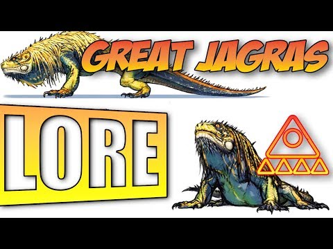 Monster Hunter World Lore: Great Jagras thumbnail