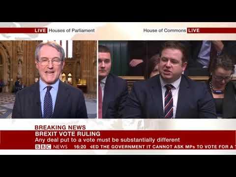 Owen Patterson MP's Interview On BBC News