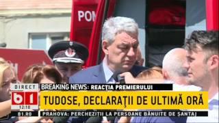 Reacție nervoasă a lui Mihai Tudose: Domnule, până una alta, eu sunt prim ministru şi eu dispun, da?