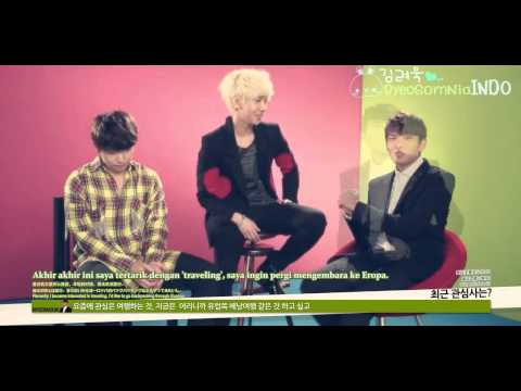[INDO SUB] LOTTE Duty Free Interview - Super Junior (Yesung, Sungmin, RYEOWOOK)