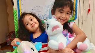 Unboxing New Toys by Mela and Stela