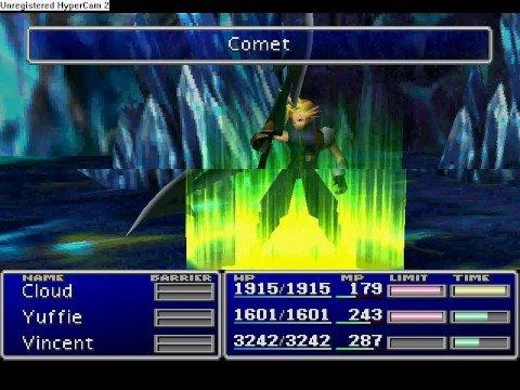 Final Fantasy VII-- Fire/Ice Dragon