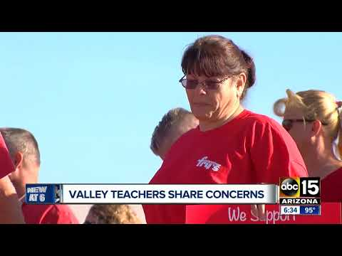 Mesa teachers weigh in on protests, challenges of teaching in Arizona