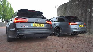 REVV BATTLE TUSSEN RS6 AVANT EN RS6+ ABT!