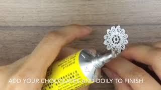 Making the Ferrero Rocher Bowl (Paris Coffee and Cake Shop)