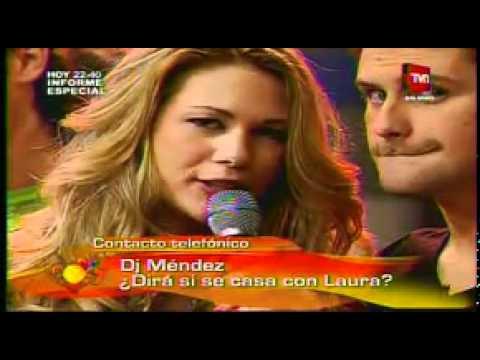 Laura Prieto habla de su posible boda con DJ Mendez (Calle 7)PARTE 3