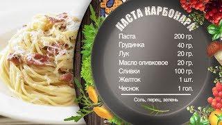 Как приготовить карбонару - рецепт от шеф-повара Игоря Артамонова