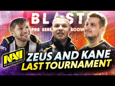 How did BLAST Moscow go — Last tournament of NAVI Zeus and Kane
