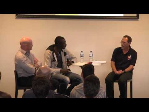 Tim Crosbie interviews David Rudisha & James Templeton