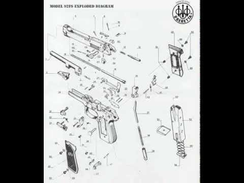 BERETTA EXPLODED ASSEMBLY DIAGRAM - YouTube