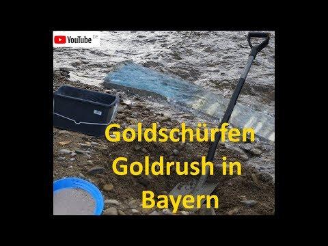 """Goldschürfen/Goldrush in Bayern -  Übergang in die """"Produktion""""  (19)"""
