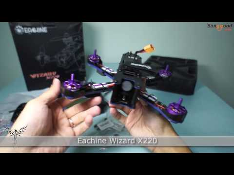 Eachine Wizard X220 RTF Review from www.banggood.com
