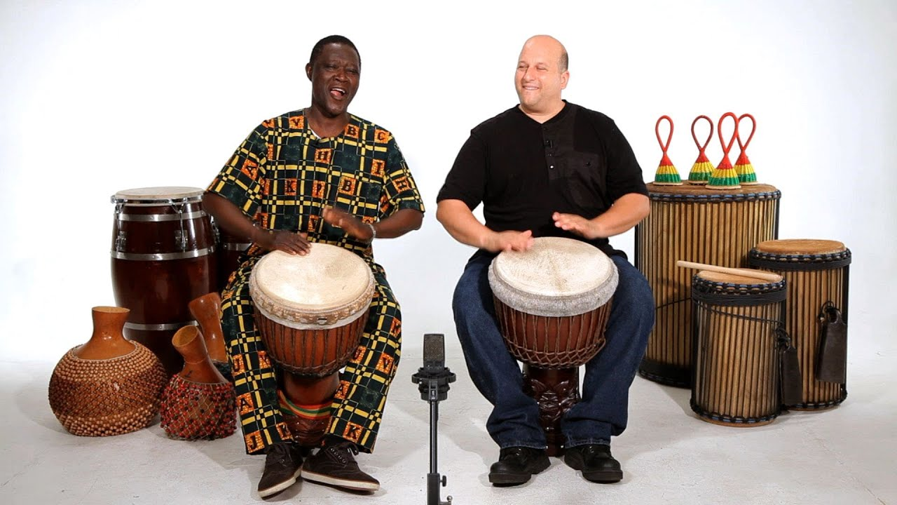 How to Play Basic Sounds on Djembe | African Drums