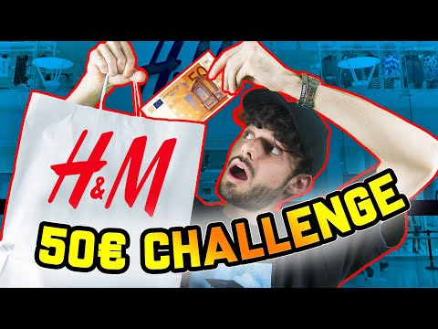 50€ H&M OUTFIT CHALLENGE!