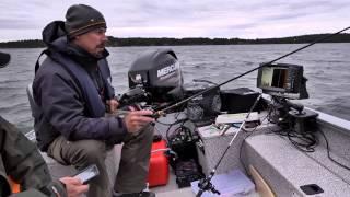 Allt du behöver veta om vertikalfiske efter röding med Håkan Fransson...